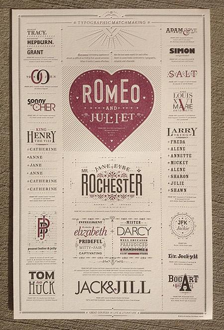 Typographic Matchmaking Post