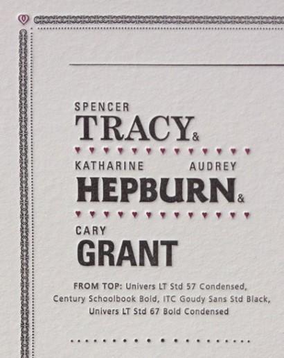 Spencer Tracy Katharine Hepburn Audrey Hepburn Cary Grant