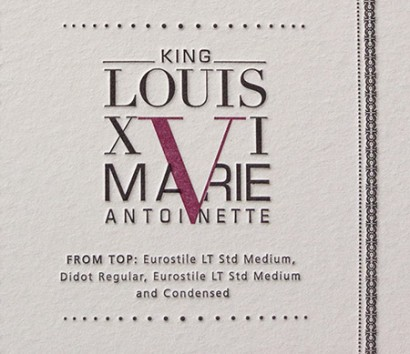 King Louis VI and Marie Antoinette
